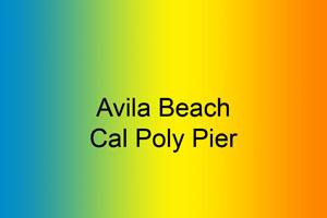 Avila Beach-Cal Poly Pier