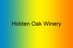 Hidden Oak Winery